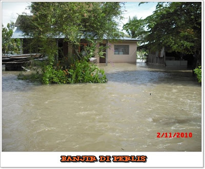 banjir di Perlis