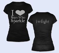Tee-Shirt I love boys who sparkle