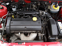Rover 25 Engine Bay