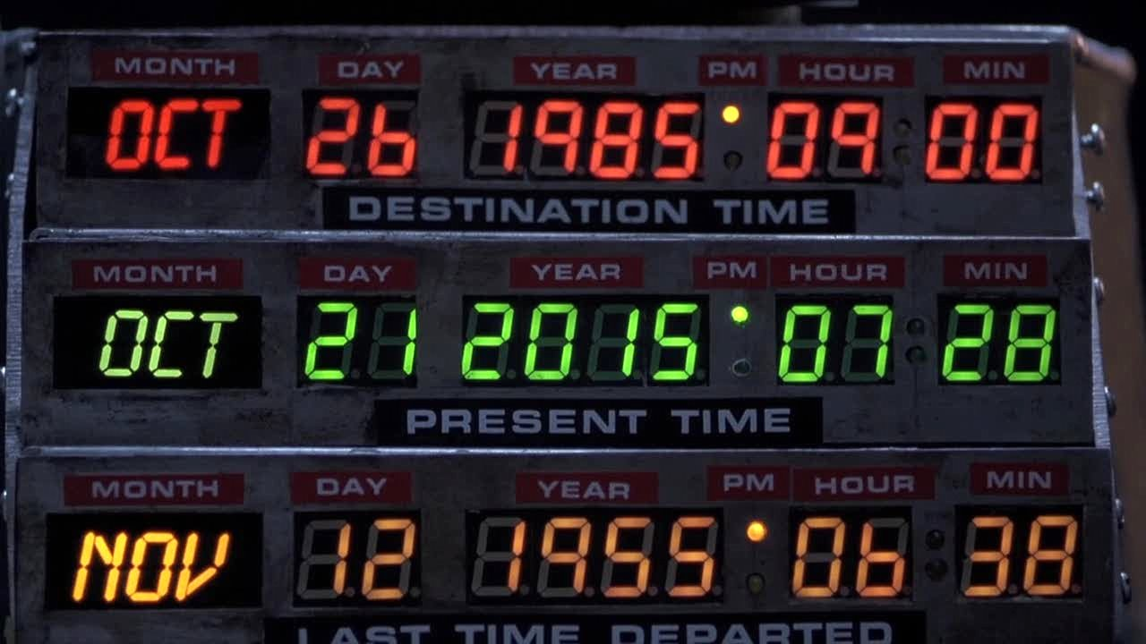 Back To The Future 2 Date 2014 Delorean time machine - wikipedia, the ...
