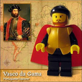 Vasco Da Gama - Versão Lego