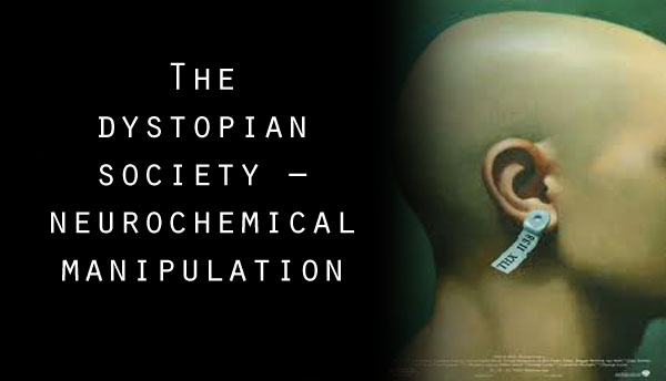 a dystopian society Another similarity between the book 1984 and our society today is the process of doublethink, which is defined as the power to accept two completely contradictory beliefs.