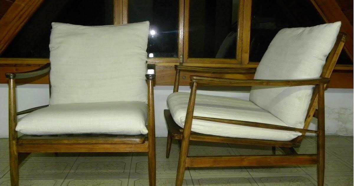 Deco retro vintage sillones escandinavos c almohad n - Sillones vintage retro ...