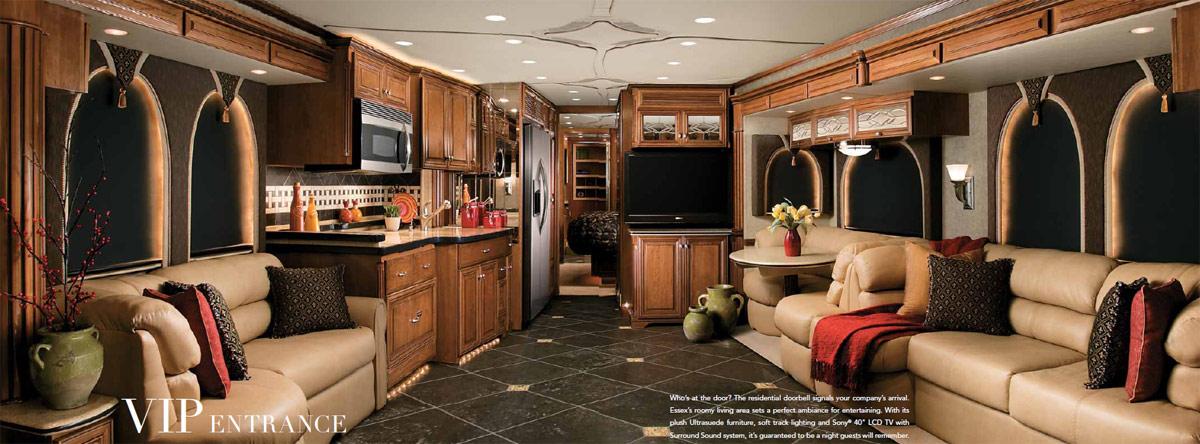 Brilliant 340RK Rear Kitchen Luxury 5th Fifth Wheel Travel Trailer Camper RV