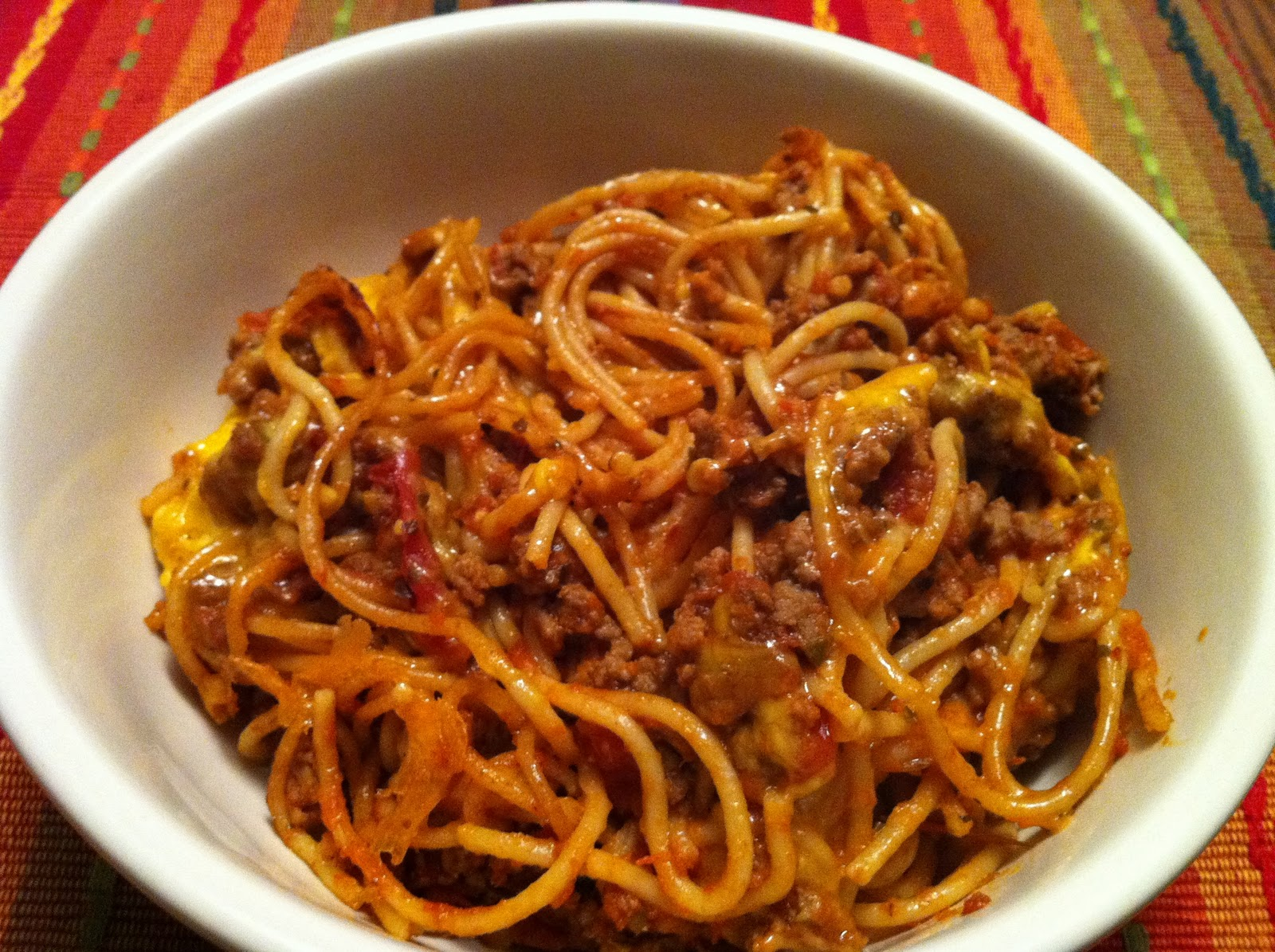 how to prepare spaghetti sauce with ground beef