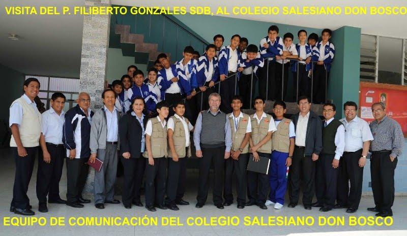 Visita del P. Filiberto Gonzales a Piura