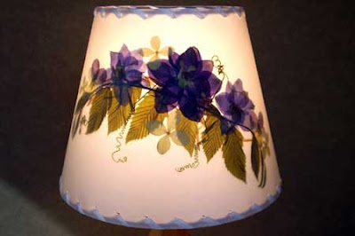 New hampshire adventures botanical lampshades botanical lampshades is a trademarked name for a small company specializing in creative fiberglass lampshades with pressed flowers and leaves mozeypictures Images