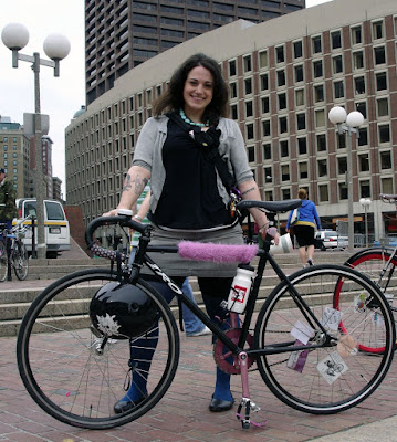 small pink Iro bike