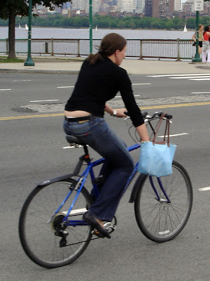 ladies' bike handbag