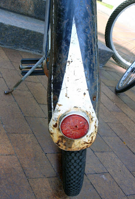 painted bicycle fender