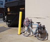 bike hauling cargo