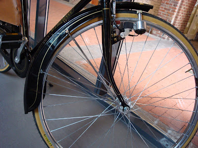 Pinarello city bike townie fender flange