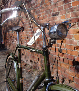 Raleigh Superbe 1966 English green