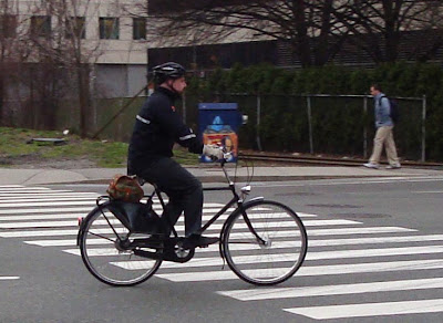 gentleman cyclist Cambridge MA