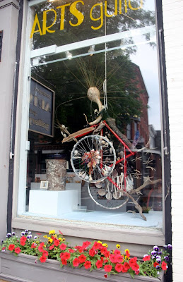 Bennington, VT bicycle art