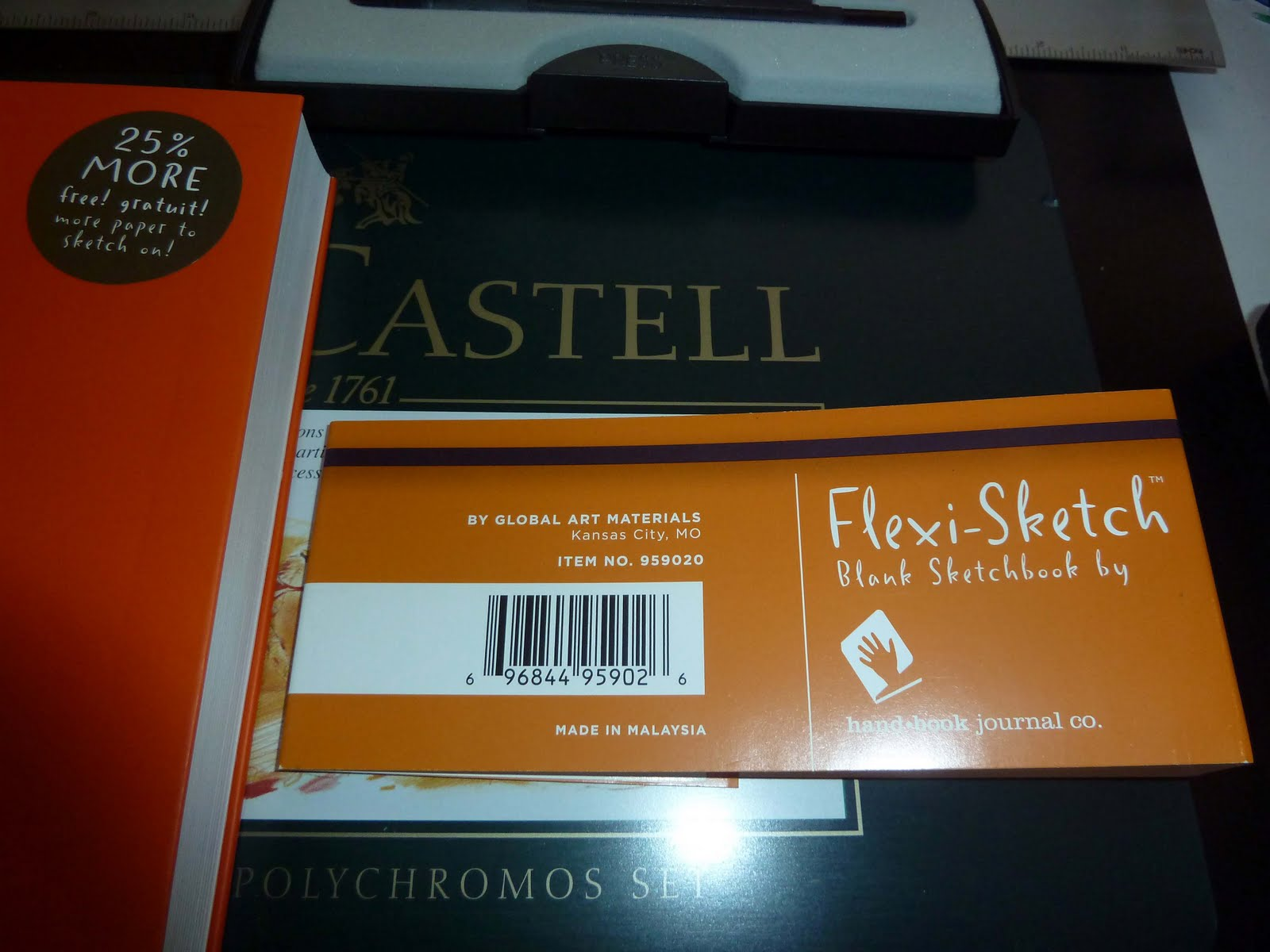 Review of global art flexi sketch blank sketchbook by handbook even cracked open a new staedtler mars technical drawing pen set for the occasion fandeluxe Image collections
