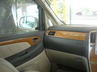 Toyota Alphard Left Dashboard