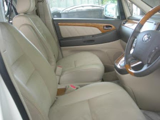 Toyota Alphard Front Seats