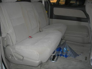Toyota Alphard Middle Seats