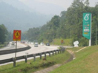 Toyota Alphard Convoy to Bentong