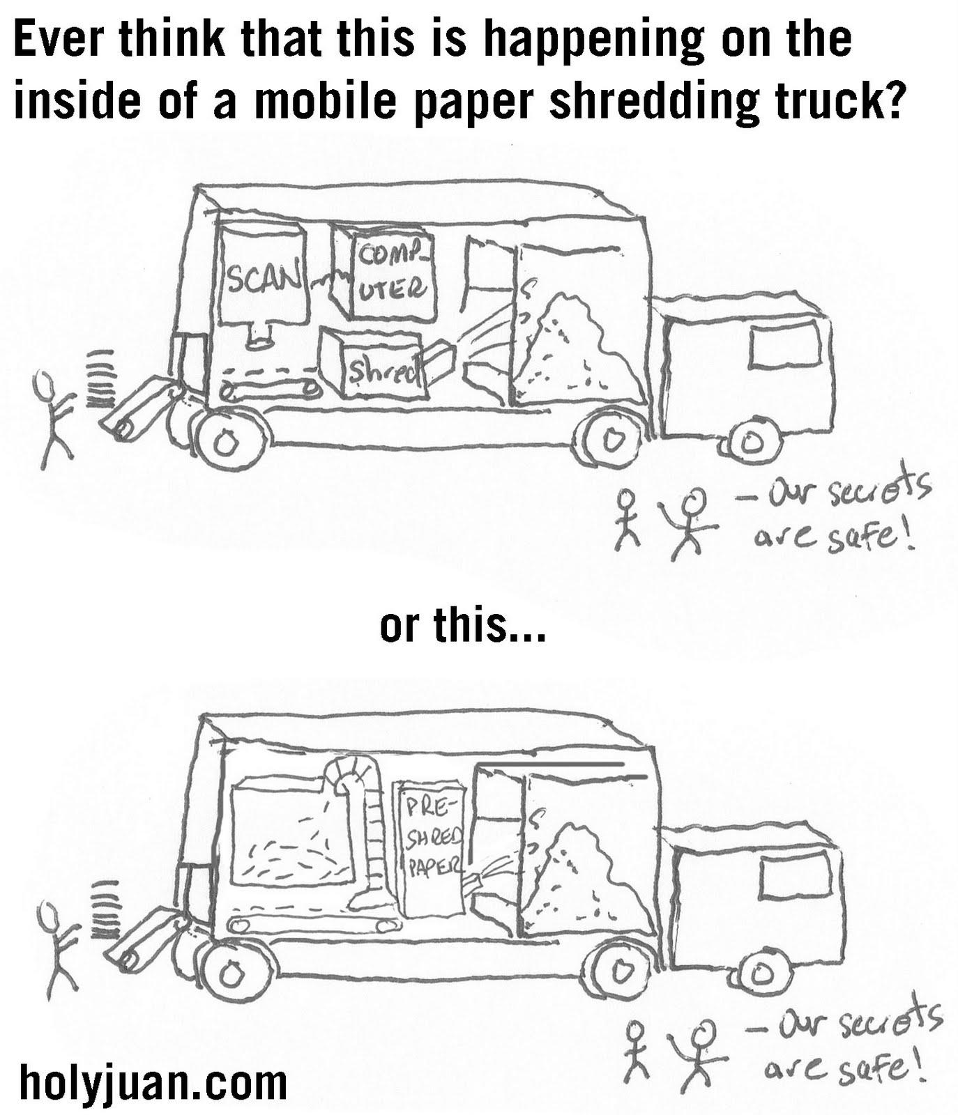 mobile paper shredding trucks for sale