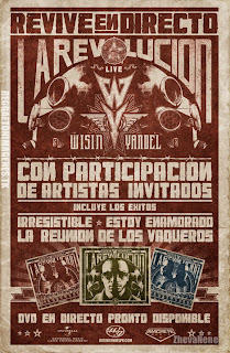 La Revolucion Live: Promocion