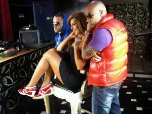 Wisin & Yandel con Marjorie Souza
