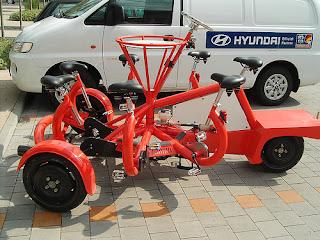 Bicicletas con Varios Años