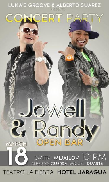Jowell & Randy en OPEN BAR