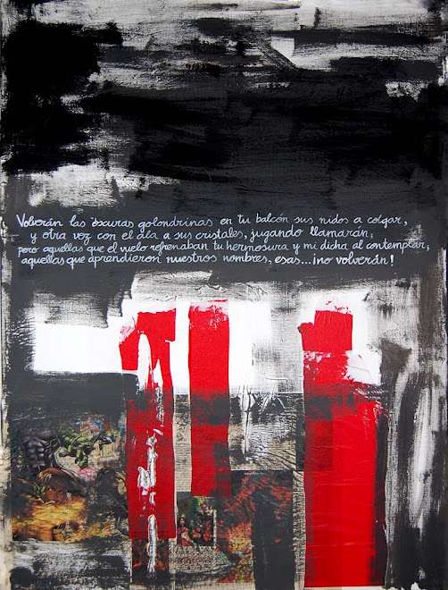 Black Poem. 91x71 SOLD/VENDIDO