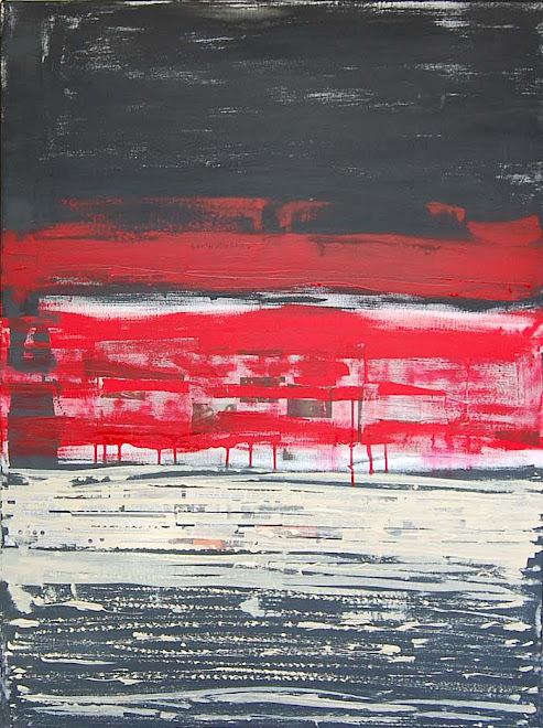 Red over trouble water. 91x71