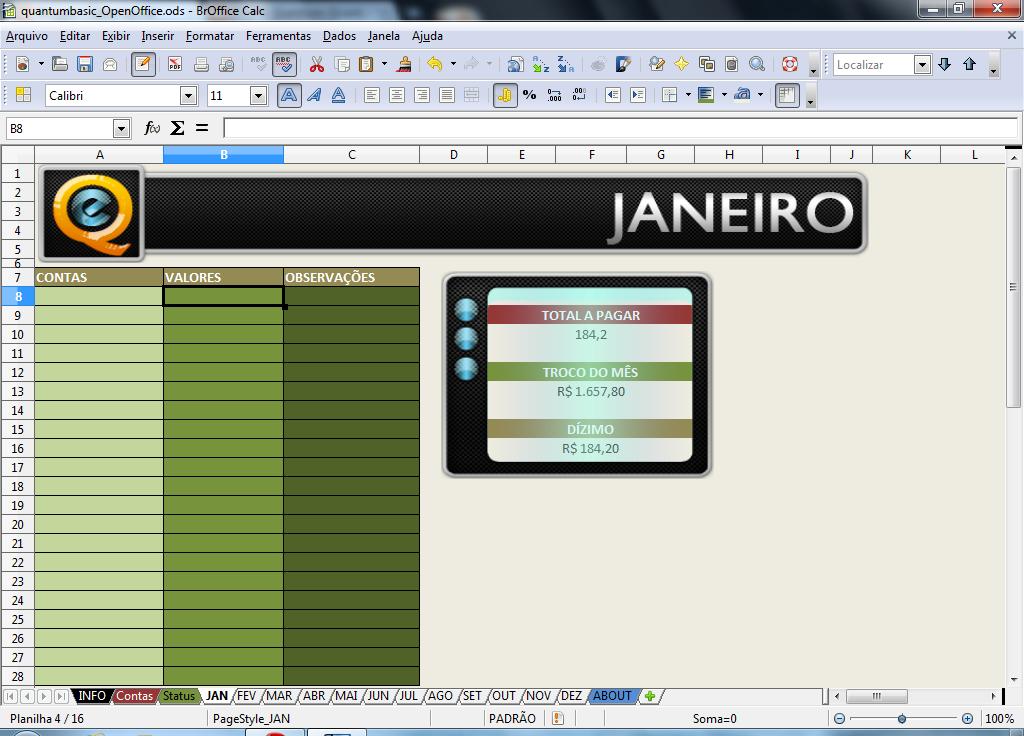 Pacote de Planilhas de Estratgia - Planilhas em Excel