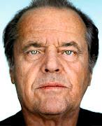 Martin Schoeller photographs Jack Nicholson, 2002. Link to photo source: