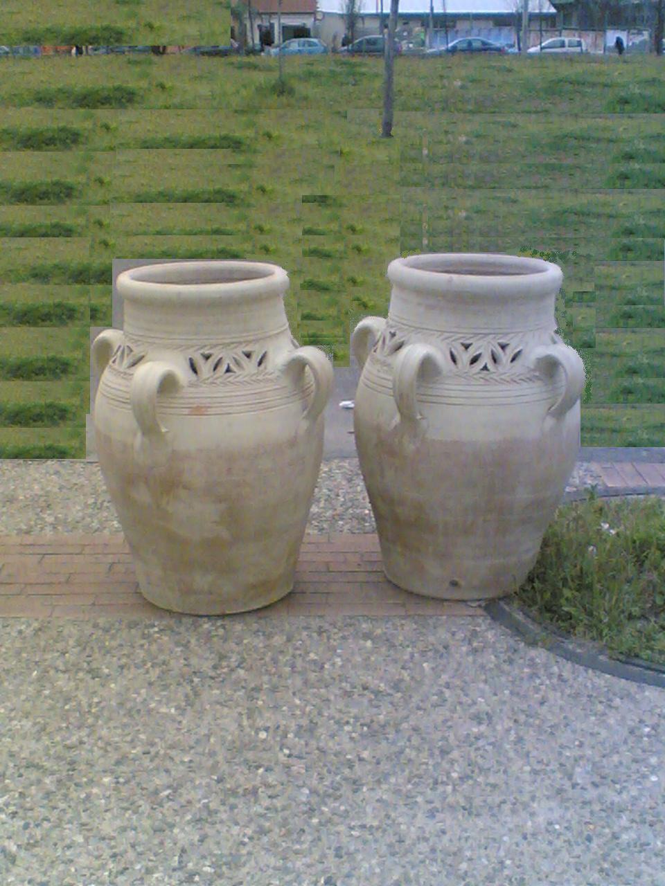 Terracotta e ceramica anfore e giare - Giare da giardino ...