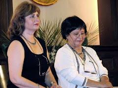 Carolina Moroder y Sonia M.Martin