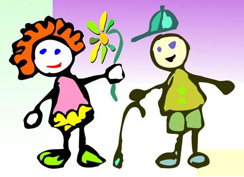 Diferencias entre niños y niñas/ dibujos - Imagui
