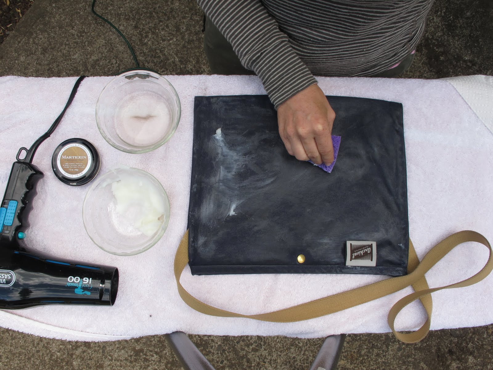 Archival Diy Reproofing Waxed Cotton Updated Archival