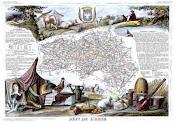Carte ancienne de l'Orne