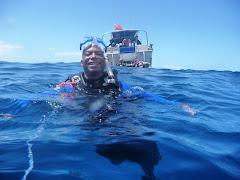 Diving Off Lanai