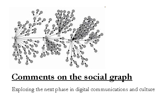 Comments on the social graph