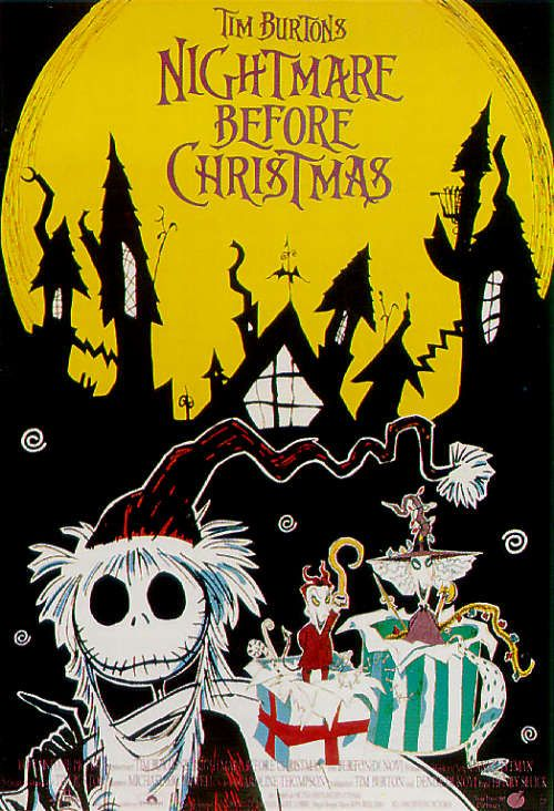 nightmare before christmas wallpaper. free animated christmas