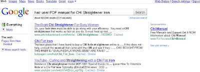 Search results for CHI PDF User Manual