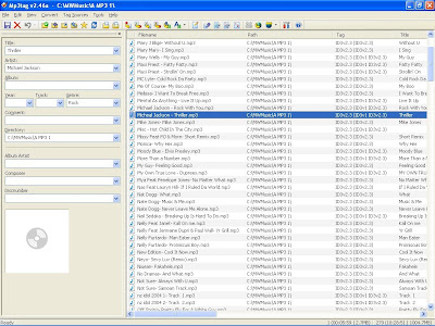 Image of MP3 Tag a freeware MP3 Track Namer Utility