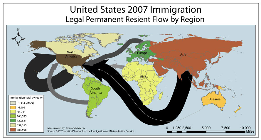 a ranting on the topic of immigration in the united states Persuasive speech outline: topic/title:  attention getter: over the years, a dispute has arisen over the issue of illegal immigration in the united states.
