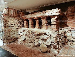 Il Römermuseum di Vienna si sovrappone all'antica Vindobona