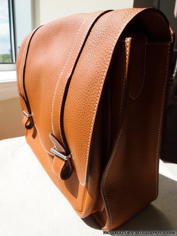 cheap replica hermes bags china - Mr. Burbailey: Begin of Another Journey -- Hermes Steve Messenger Bag