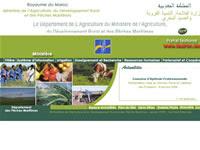 adresse Ministère de l'agriculture, du Développement Rural et la pêche Maroc