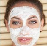 peau claire masque