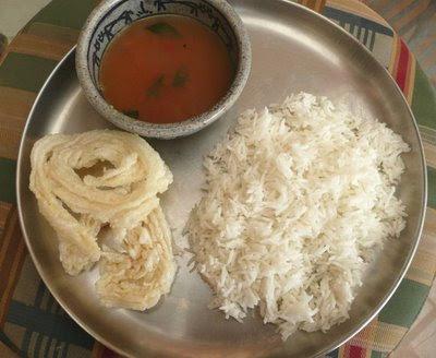 Saaru-anna from Priya at Food and Laughter blog