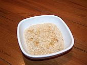 Baked rice pudding from Stephanie at About Cooking For Kids blog